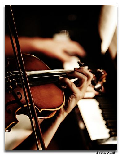 piano and violin--beautiful instrument combination: