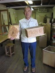 2009年10月24日 みんなの作品【時計】 大阪の木工教室arbre(アルブル)
