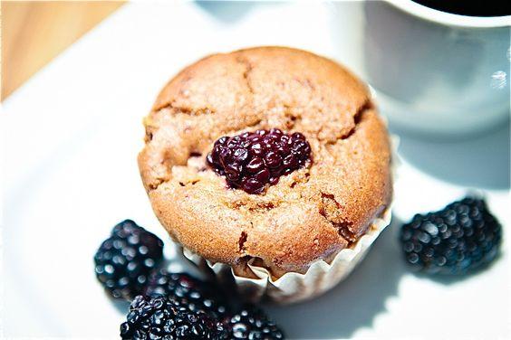 blackberry cuppins