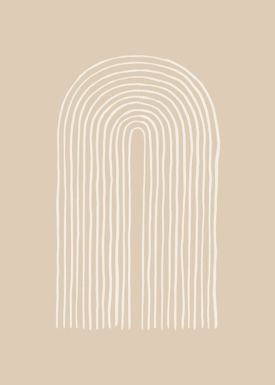 Painted Arches No2 Poster Wallpaper Iphone Boho Boho Graphic Design Boho Wallpaper Boho chic iphone wallpaper