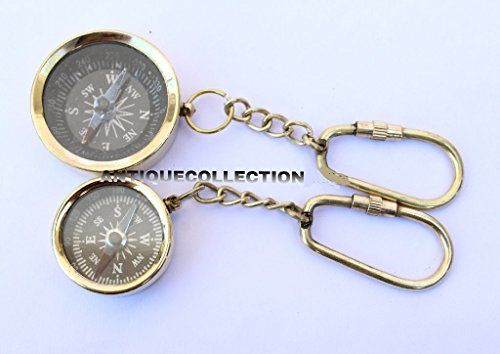 Nautical Vintage Brass Compass Key Chain Key Ring Set Of Https Www Amazon Com Dp B07d5tx5jt Ref Cm Sw R Pi Dp U X Compass Keychain Keychain Vintage Brass