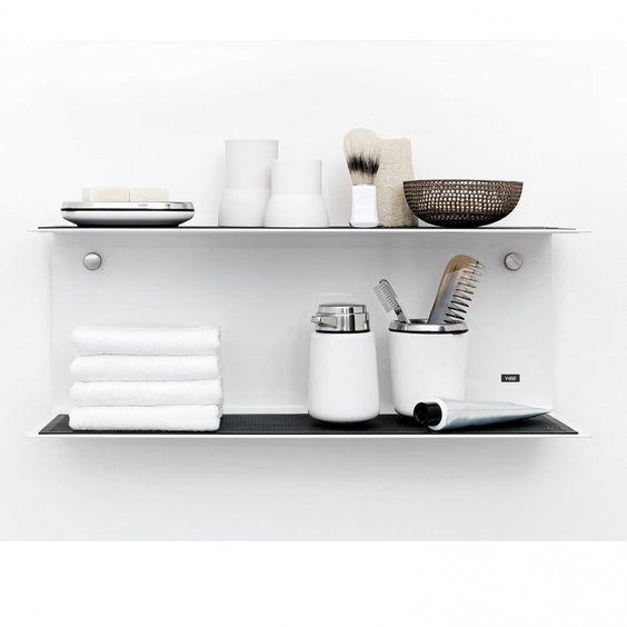 Vipp 921 Regal klein 50 cm, weiß: Amazon.de: Küche & Haushalt