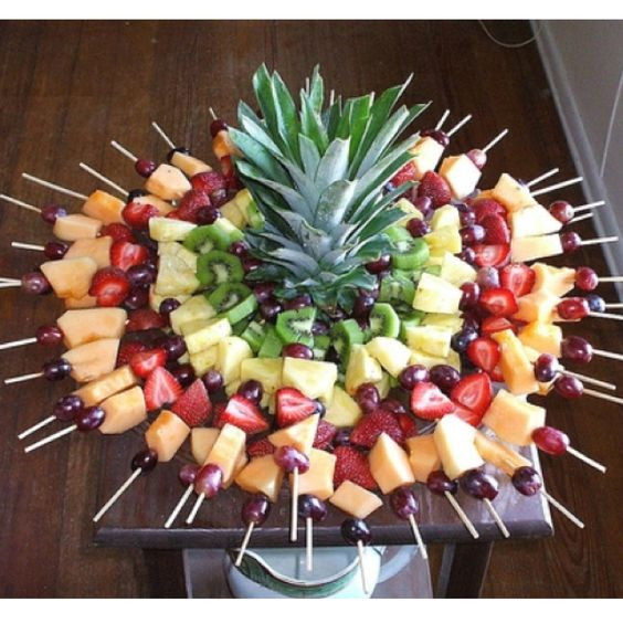 I think we need fruit and low fat cheese along with the pretzels.  I often use grapes, oranges, and watermelon for brunches.  They go far.  I think the mints might be a sugar rush for those with diabetes.