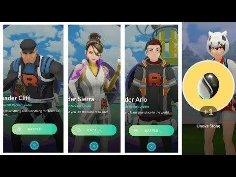 Who Is The Toughest Leader Of Team Go Rocket Fighting Cliff Sierra And Arlo Youtube Tough Pokemon Go 2016 Pokemon Go