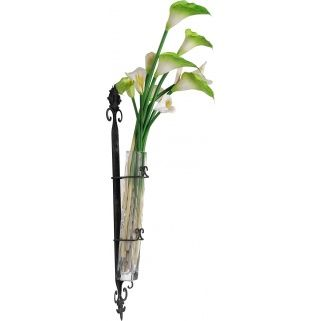 So many suitors so little tablespace for flowers. Never suffer from this problem again! Use this wall vase to diplay your favorite foilage.  #paulmichaelcompany #wallvase #greenthumb