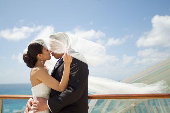 Wedding at sea. #caribbean #destination