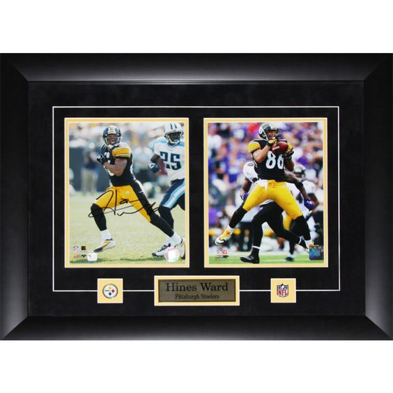 shop for hines ward pittsburgh steelers signed frame get free shipping at your online collectibles outlet store get in rewards with club o