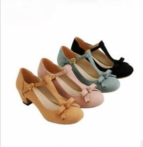Lady Fashion Pump Shoes Leather Insole 4 Colors Full Sizes Hot Sell | eBay
