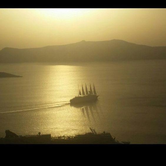 Santorini 2015  #greece#mediterranean #sailboat #yatch #vaction #life by david_miamirealtor