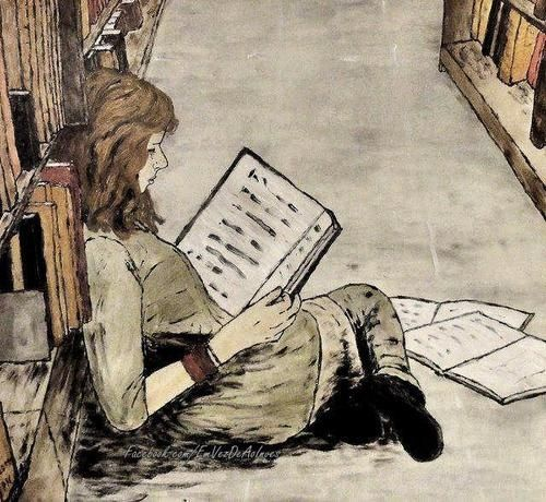 """wasbella102:  """"A reader lives a thousand lives before he dies, said Jojen. The man who never reads lives only one.""""  George R.R. Martin, A Dance With Dragons"""