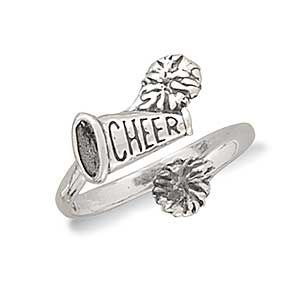 Cheerleader Ring :: Sports Jewelry :: More Jewelry :: Mademoiselle Jewelry
