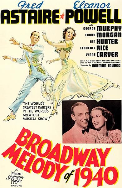 Broadway Melody Of 1940 1940 Movie Poster Filme Pipoca