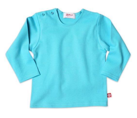Zutano Baby Long Sleeve Tee Pool