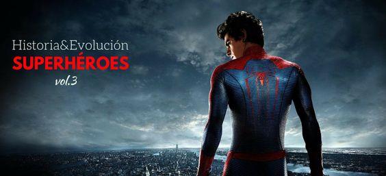 Historia y evolución de Spiderman #blog #tienda #disfraces #online #carnaval #halloween