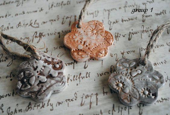 Steampunk Impression Ornaments V1 by cyrenemyst on Etsy, $10.00