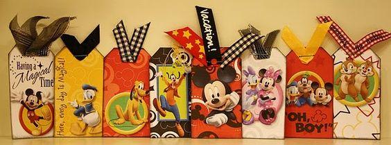 Creative Memories - Disney tags!