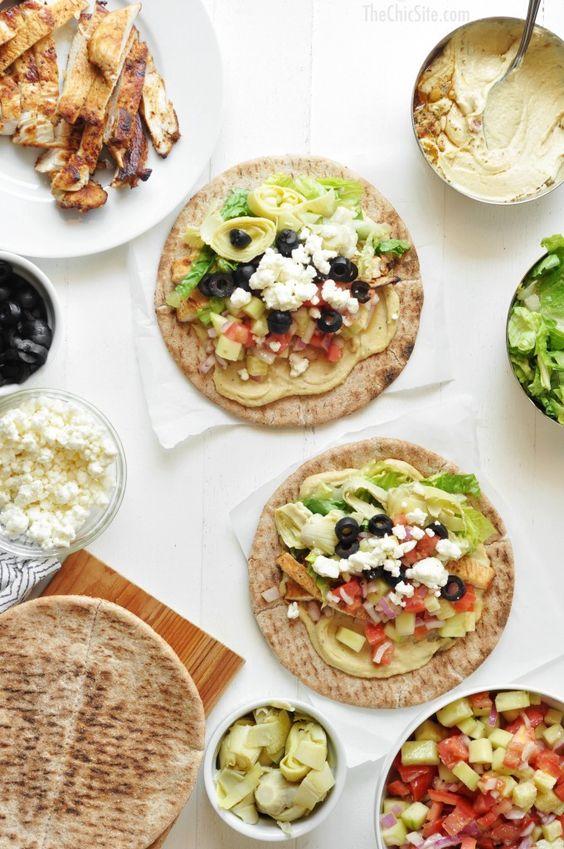 Mediterranean tacos recipe tacos greek pita and healthy dinner recipes - Healthy greek recipes for dinner mediterranean savour ...