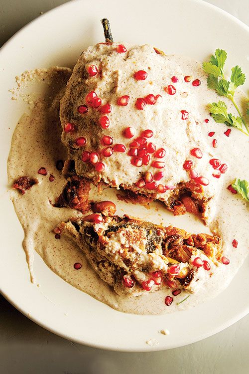 Chiles en nogada, Gastronomía Mexicana