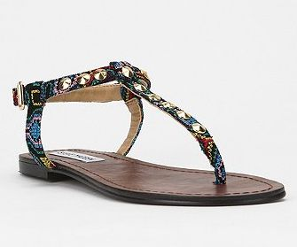 7 Sultry T-Strap Sandals for Summer (Trust Us, You Need a Pair In Your Closet and On Your Feet!) | http://styleblazer.com/64351/7-sultry-t-strap-sandals-for-summer-trust-us-you-need-a-pair-in-your-closet-and-on-your-feet/4/#StyleBlazer