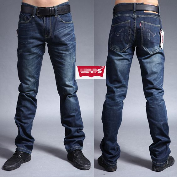 Free shipping new arrivel men's fashion jeans men's clothing men's ...