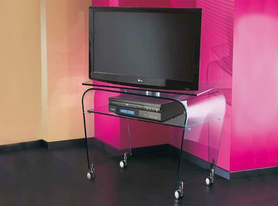 Calypso TV Stand by LA Vetreria, Italy - $1,600.00