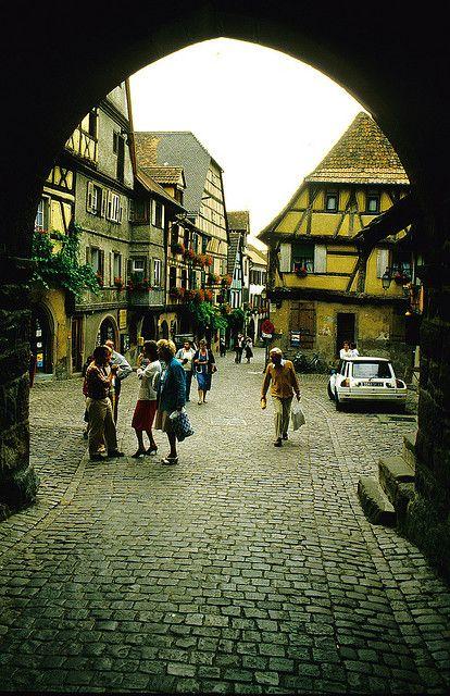 Riquewihr, Elsace  by Martin van Duijn