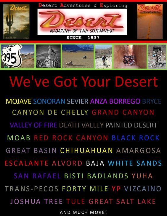 we've got your desert !   #desert #desertmagazine #coachella #southwest #southwestern #roadtrip #adventure #journey