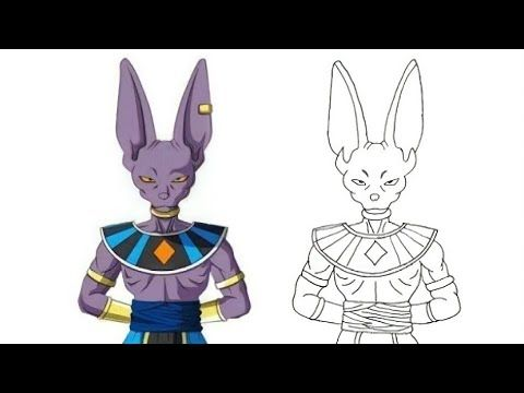 How To Draw Beerus Step By Step Anime Dragon Ball كيف ترسم بيروس حاكم الدمار انمى دراغون بول Youtube In 2021 Drawings Drawing Tutorial Humanoid Sketch