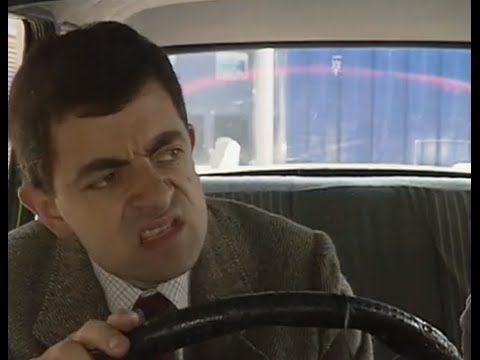 مستر بين محبوس في موقف السيارات Youtube Mr Bean Funny Clips Mr Bean Funny