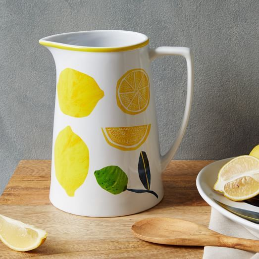 collector's edition lemon pitcher