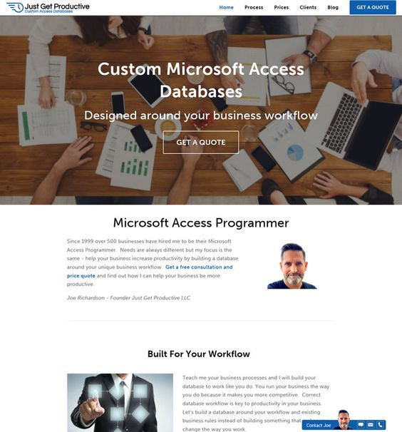 New Website Is Ready! — Microsoft Access Programmer - Get a Free ...