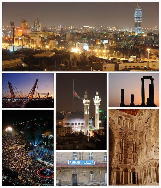 # Amman, Jordânia.