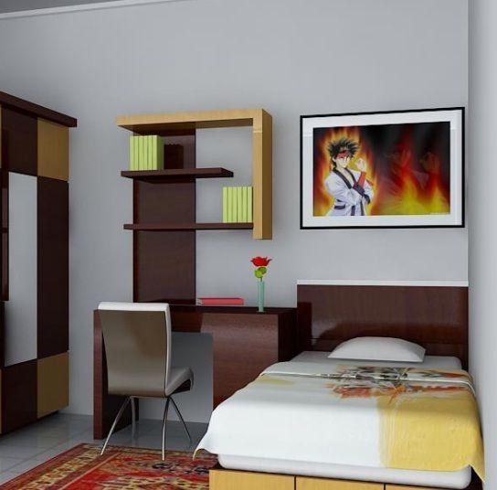 Pin Di Kamar Tidur Minimalist room decoration size 3x3