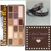 Too Faced Chocolate Palette and I Love Chocolate Bracelet Giveaway - Giveaway Promote