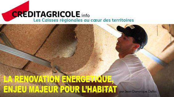 Dossier logement (1/4) : la rénovation énergétique, enjeu majeur pour l'habitat. Reportage et article pour Crédit Agricole.info.  http://goo.gl/eENt4j