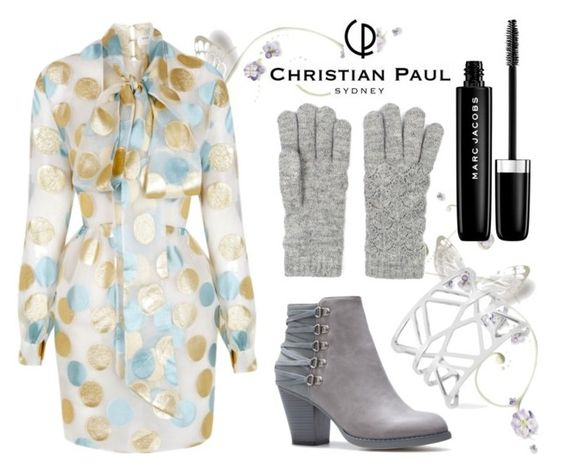 """""""write you up"""" by soidi-illis ❤ liked on Polyvore featuring The 2nd Skin Co., Vince Camuto and Marc Jacobs"""