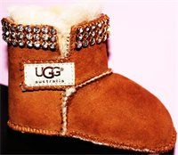 Bedazzled Baby UGGS <3