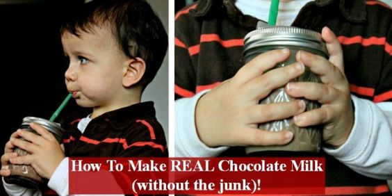 How to make chocolate milk - without the junk!