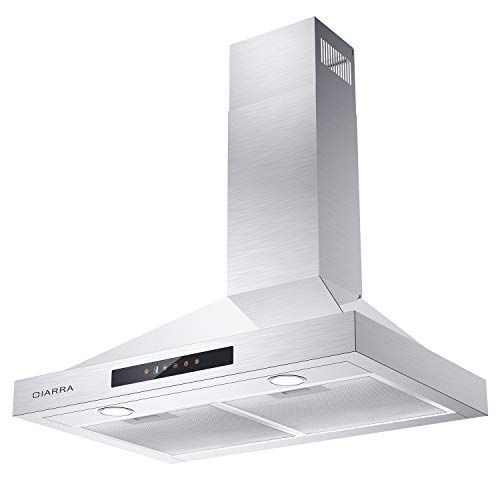 Best Cooker Hoods Reviewed Rated In 2019 Stainless Steel Hood Vent Exhaust Fan Cooker Hoods