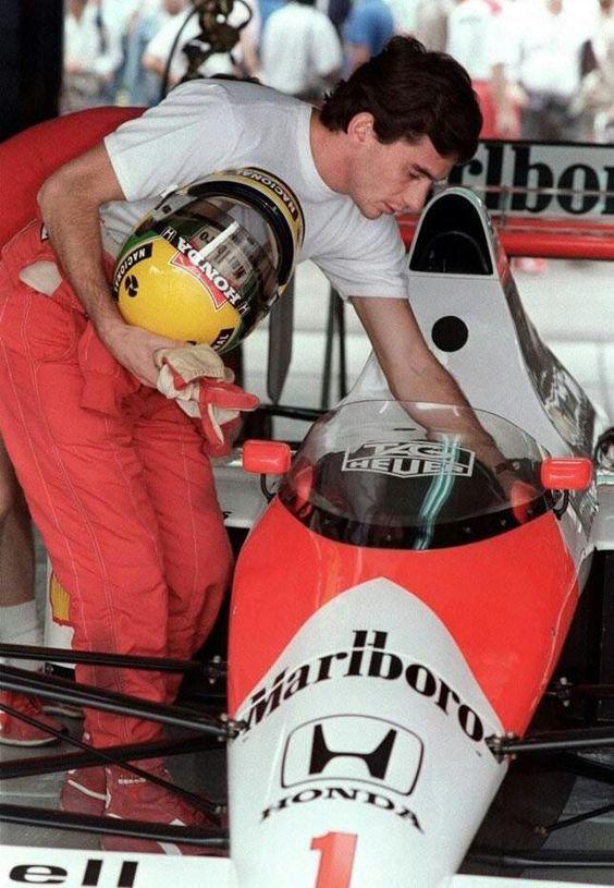 Ayrton Senna - Mexico 1989