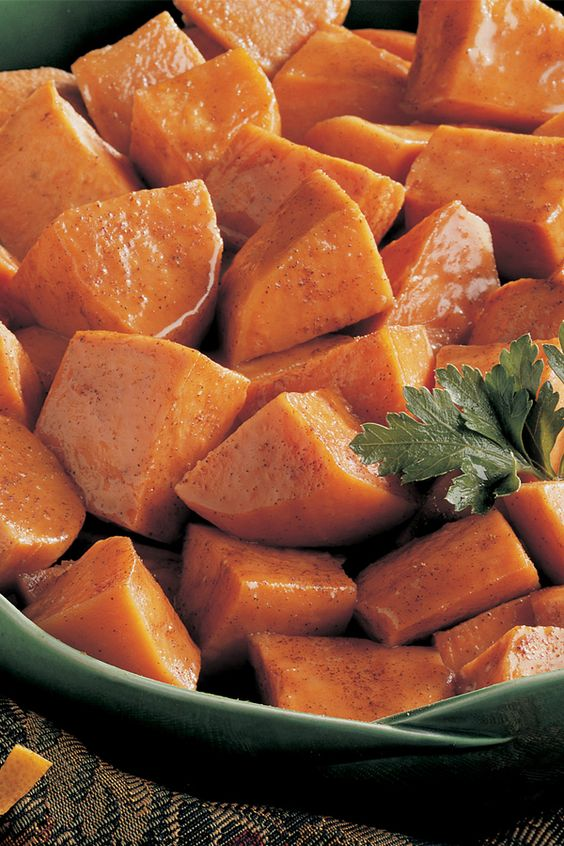This sweet potato side dish will be the highlight of your special holiday meal. Their natural sweetness goes so well with the flavors of pumpkin pie spice and vanilla.