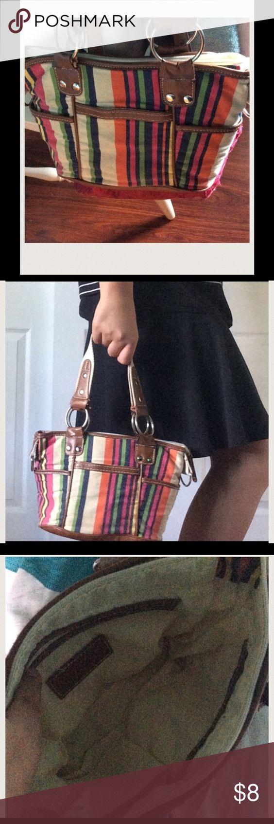 Colorful shoulder purse Super cute! Colorful! Good condition! Bags Shoulder Bags