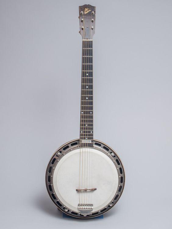 Circa 1926 Gibson GB-3 Mastertone guitar banjo: