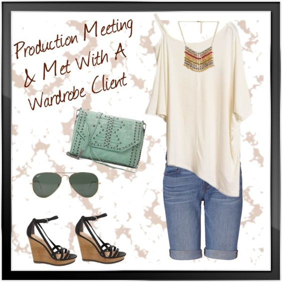 """""""Production & Client Wardrobe Meeting"""" by cbslifestylist on Polyvore"""