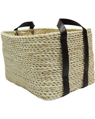 Store more with this affordable Maize Rope Market Tote. Buy it here: http://www.bhg.com/shop/allen-plus-roth-allen-plus-roth-natural-maize-rope-market-tote-p4ffab3f682a75e55847504c5.html?socsrc=bhgpin091512shopwickerbasket