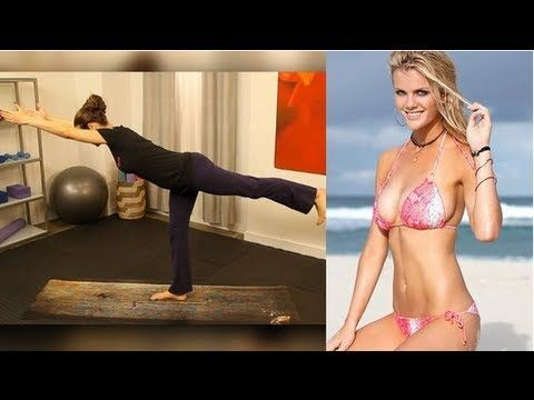10-minute bikini-body workout -- a plethora of 10-minute workouts can be found here: http://www.youtube.com/user/popsugarliving/videos