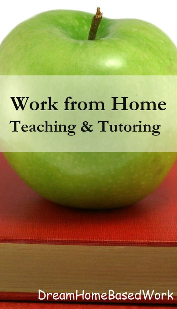 Work from Home Online Tutoring Jobs | Dream Home Based Work