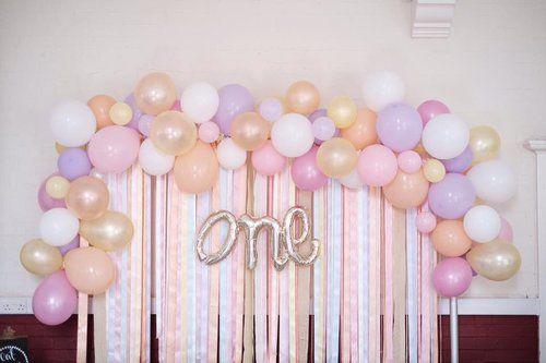 Arch Balloon Organic Garland Balloon Wall Decorations Simple