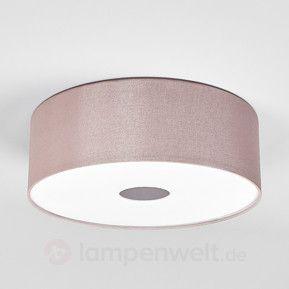 80 cm - LED-Deckenleuchte Toulouse in Braun sicher & bequem online bestellen bei Lampenwelt.de.