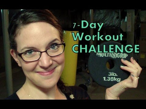 7-Day Workout Challenge!  #anniessimplelife